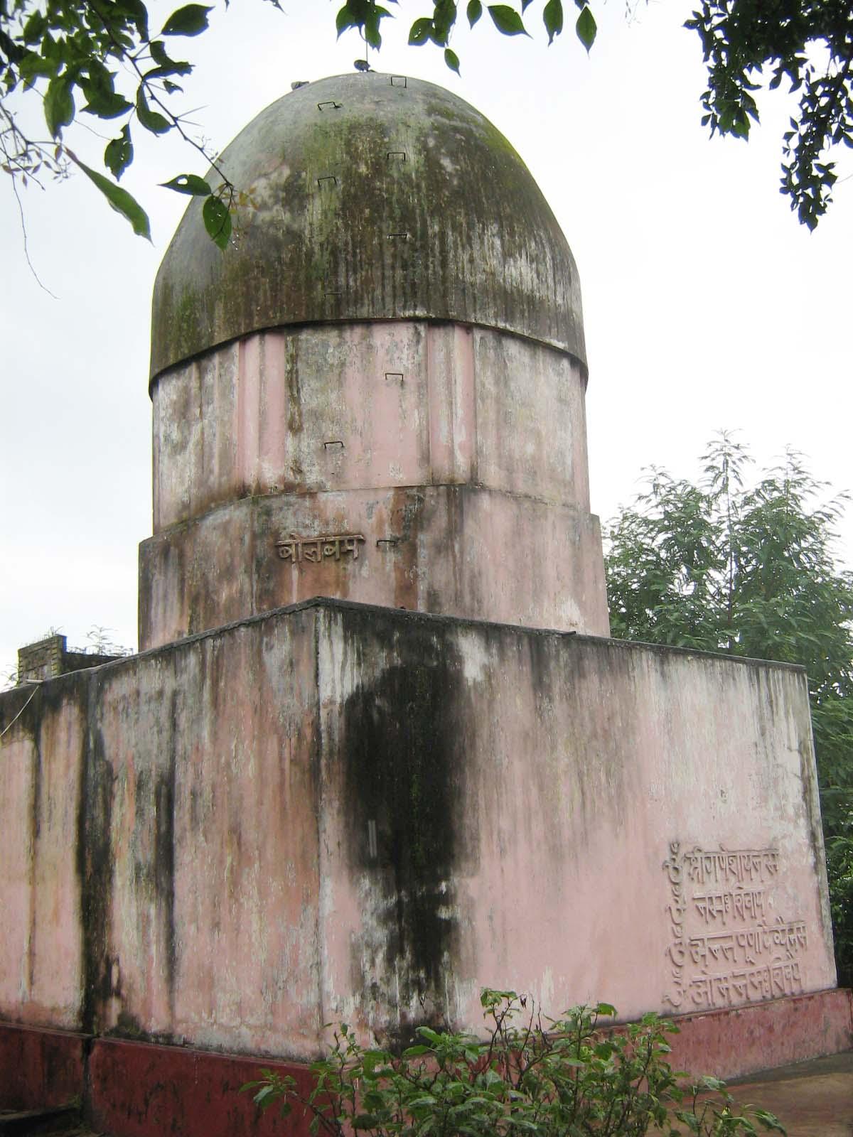 Mandir of Bajar Tand Ramgarh