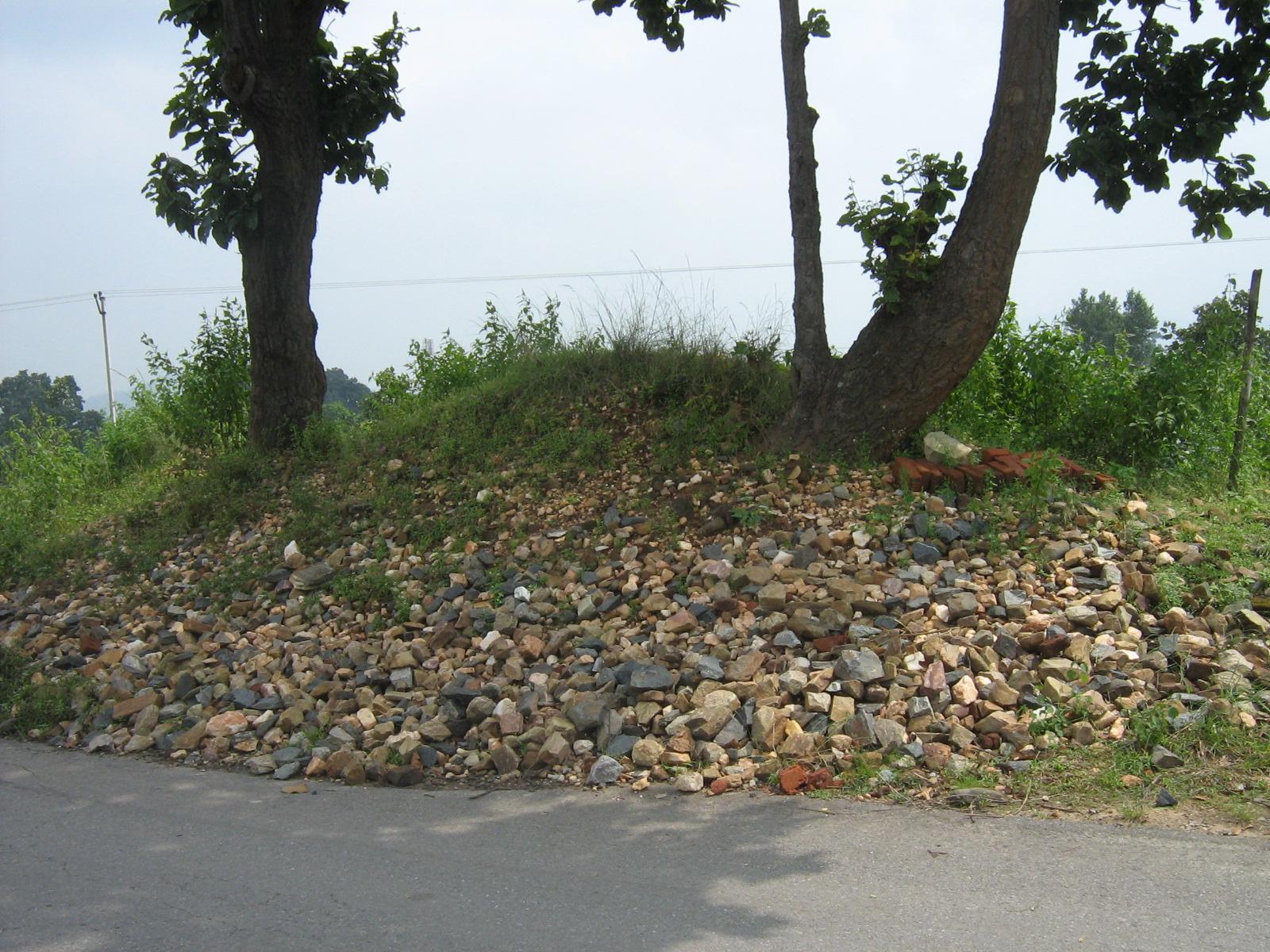 Megalith of (Stone craine) Gola Ramgarh