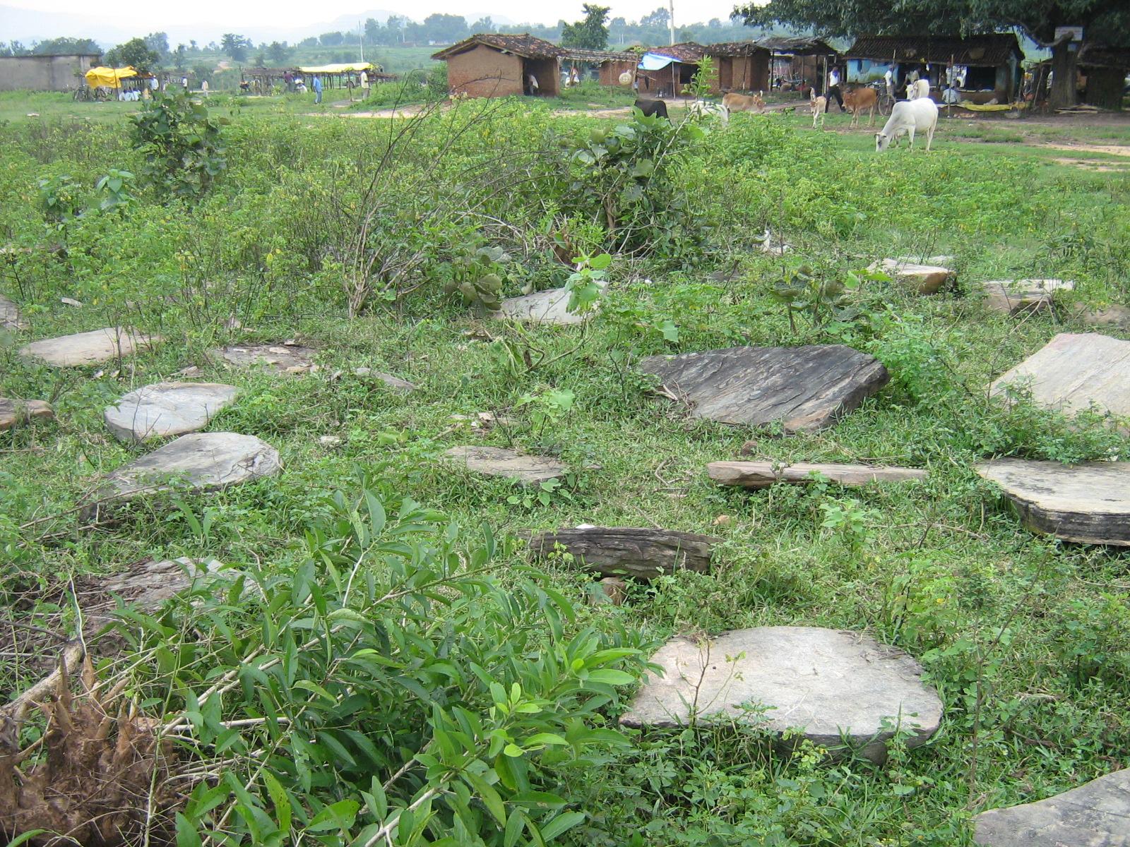 Megaliths (Dolmens) of Korambe Village Gola Ramgarh