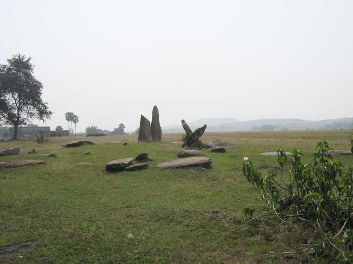 Megaliths of Hesalong Mandu Ramgarh