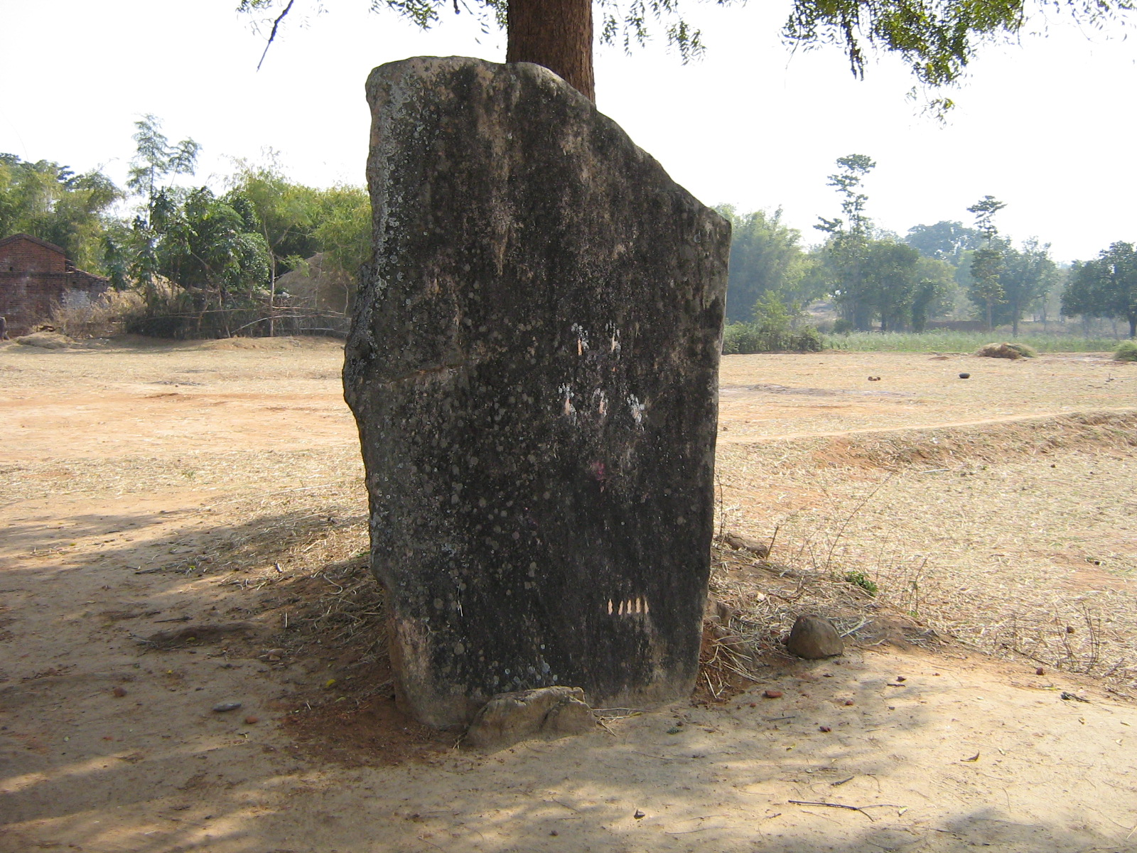 Megalith (Menhir) of Bhalu Village Ramgarh